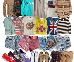 shoes, clothes, and shirt image
