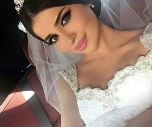 wedding, makeup, and beauty image