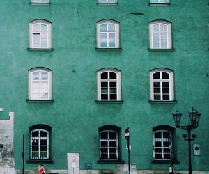 green, architecture, and building image