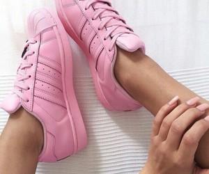 adidas, pink, and rosa image