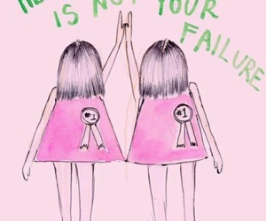 feminist, pink, and quotes image