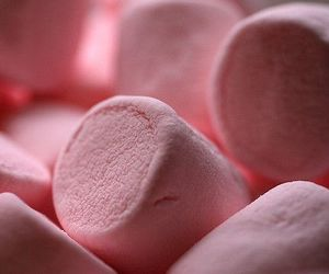 pink, marshmallow, and food image