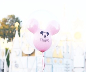 disney, pink, and theme image