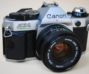 photography and canon ae-1 program image