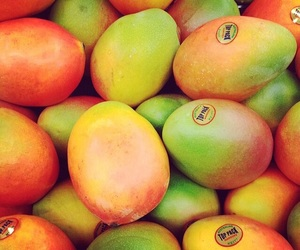 mango, fruit, and food image