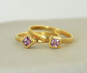 etsy, solid gold, and mothers ring image
