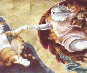 art, cats, and arte image