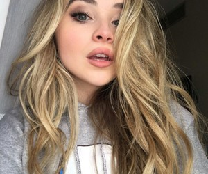 sabrina carpenter and blonde image