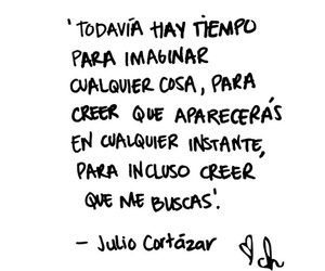 julio cortazar, imaginar, and instante image
