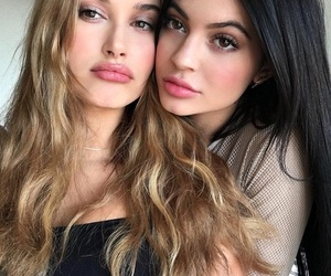 kylie jenner, hailey baldwin, and kylie image