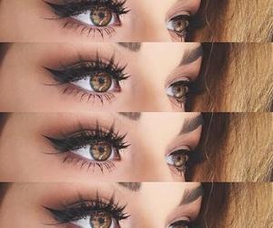 eyebrows, eyeshadow, and style image