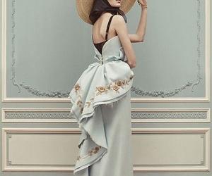 dress, ulyana sergeenko, and model image