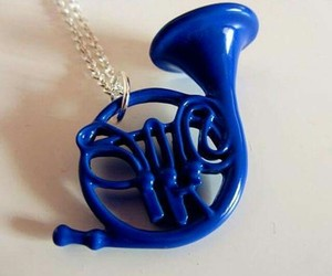 blue, french horn, and himym image