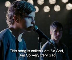 sad, grunge, and song image