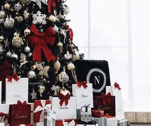christmas, gift, and dior image