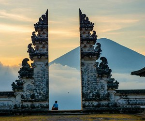 indonesia, bali, and sky image