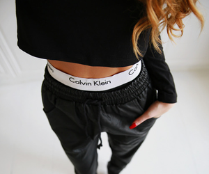 fashion, Calvin Klein, and black image