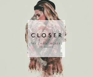 closer, halsey, and music image