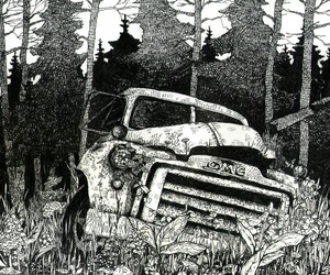 background, car, and dismay image