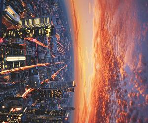 city, beautiful, and sky image