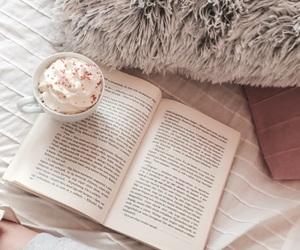 autmn, book, and coffee image