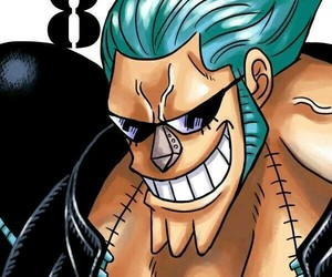 one piece and franky image