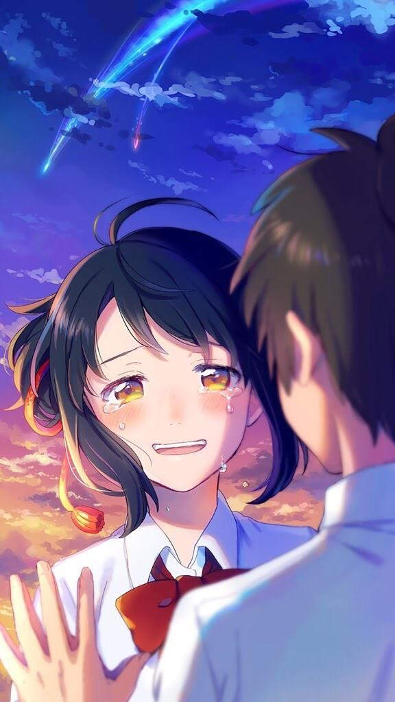 anime, your name, and kimi no na wa image
