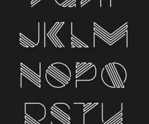alphabet and typographie image