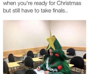 funny, christmas, and school image