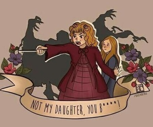 harry potter, ginny, and molly weasley image