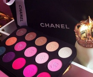 chanel, fashion, and make up image