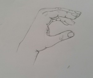 draw, finger, and hand image