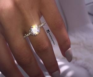 diamond, style, and ring image