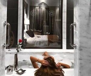 bath, luxury, and beautiful image