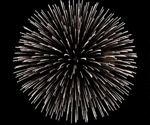 fireworks, gif, and night image