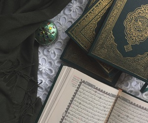 green, qur'an, and 💚 image