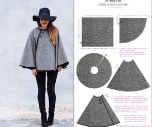 diy, cape, and fashion image