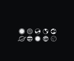 planet, wallpaper, and black image