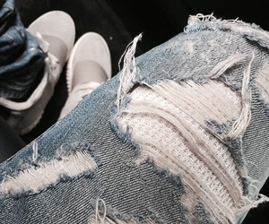 fashion, jeans, and yeezy image