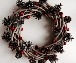 advent, berry, and christmas image