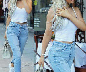 outfit, kylie jenner, and women image