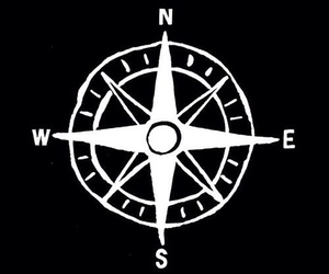 black, compass, and wallpaper image