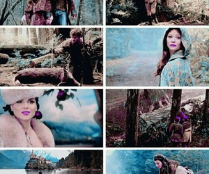 Jennifer Morrison, once upon a time, and snowing image
