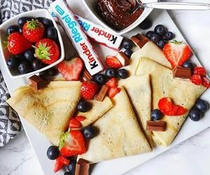 food, chocolate, and kinder image