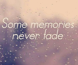 cover, fade, and memories image