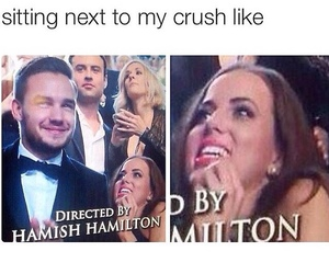 crush, funny, and liam payne image