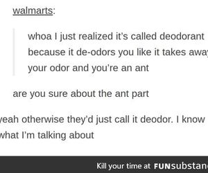 ant, de, and odour image