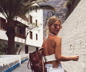 city, summer, and travelbag image