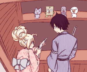 fary tail, zervis, and zeref dragneel image