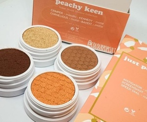 beauty, makeup, and peachy keen image
